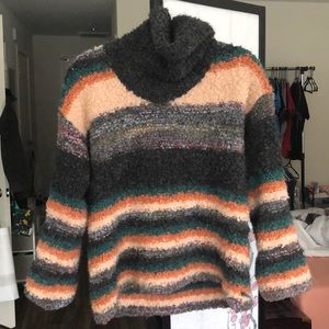 Anthropologie wool turtleneck sweater